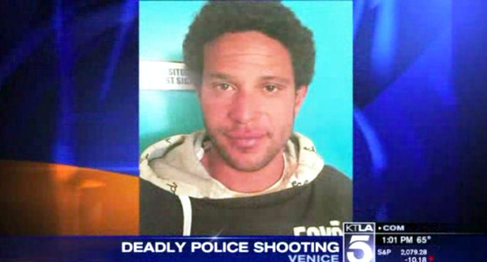 Los Angeles police chief disturbed after his cops kill an unarmed transient on Venice Beach