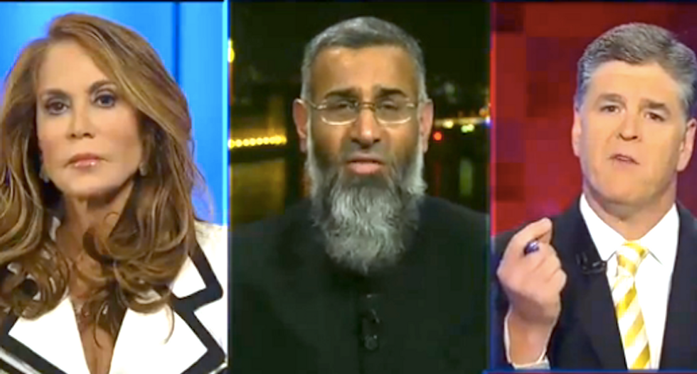 'You want her to die!': Hannity clashes with Islamic extremist over anti-Muslim activist Pamela Geller