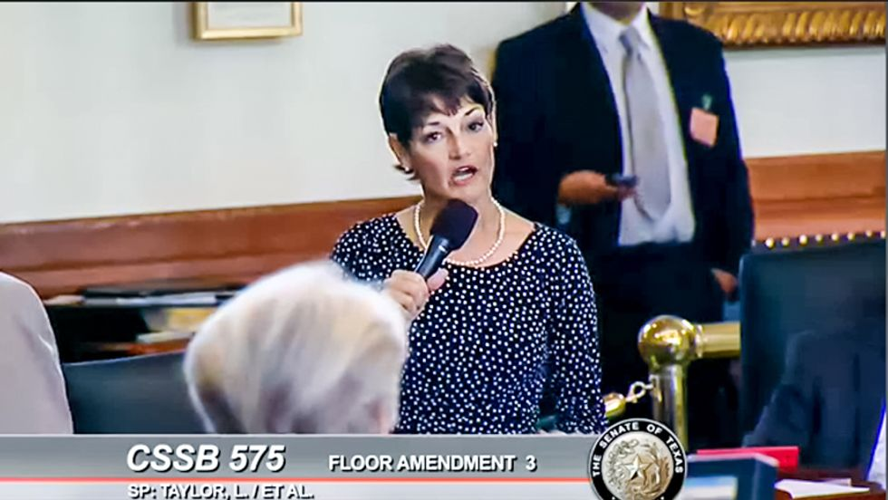 Texas Republican wants to make life easier for insurance companies by making life harder for rape victims