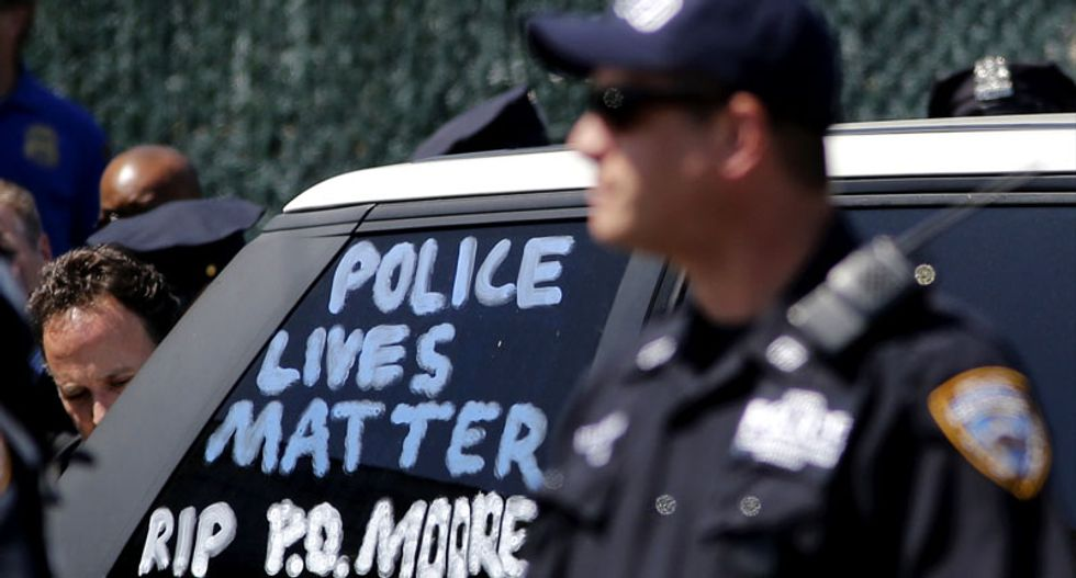 Thousands expected at funeral for slain New York policeman Brian Moore