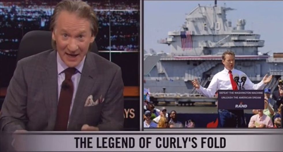 Maher blasts GOP pandering to Jade Helm 15 insanity: 'In the Republican party, crazy is a constituency'
