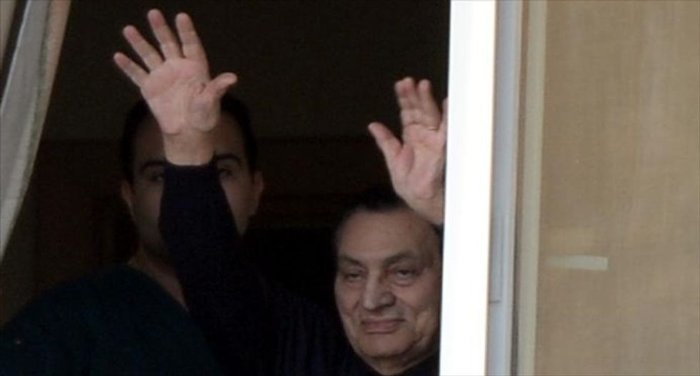 Egyptian court sentences ex-President Mubarak to three years in prison for corruption