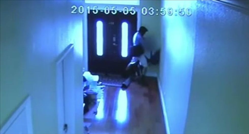 California man arrested after attack on teen girl is caught on home security camera