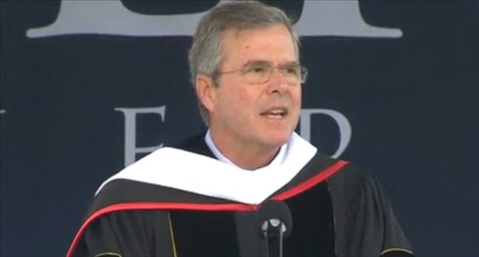 Jeb Bush accuses Obama of pushing 'complete disregard of religious conscience'