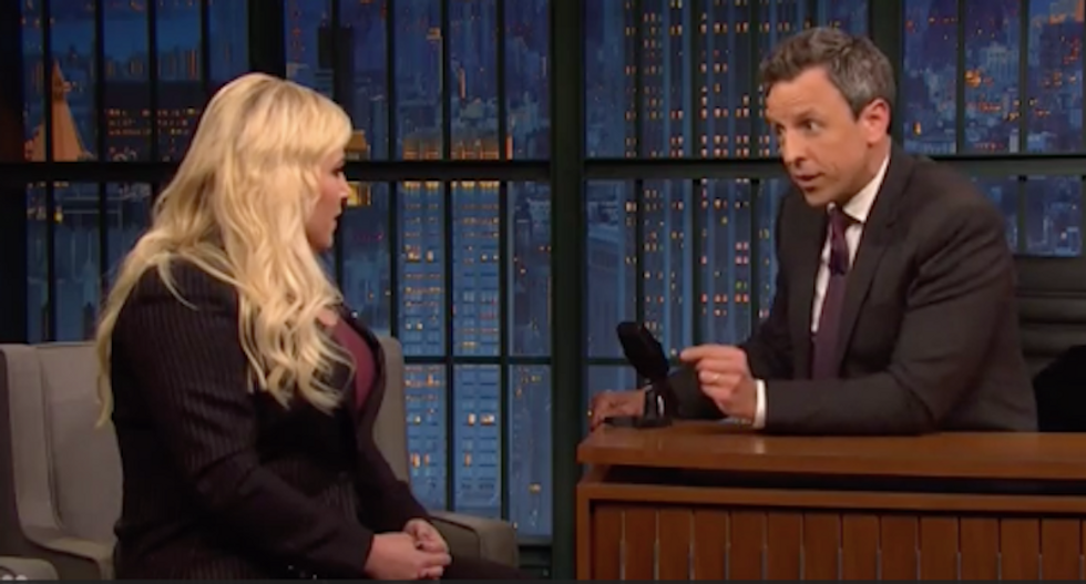 Seth Meyers calmly dismantles Meghan McCain over her attacks on Muslim congresswoman