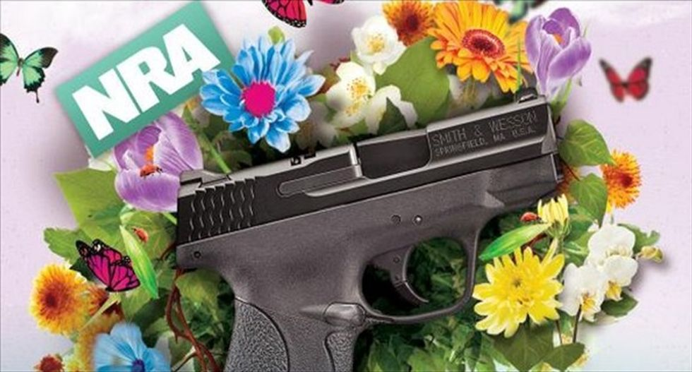 NRA's Mother's Day promotion: Give your mom the same gun a toddler fired in fatal Idaho shooting