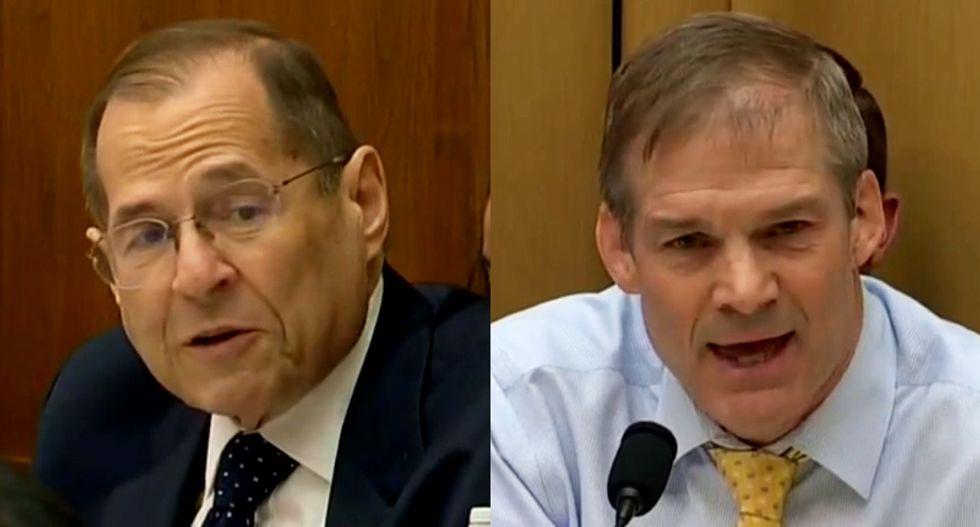 WATCH: Nadler uses Jim Jordan's own votes to slap down his anti-Mueller rant at Bill Barr contempt hearing