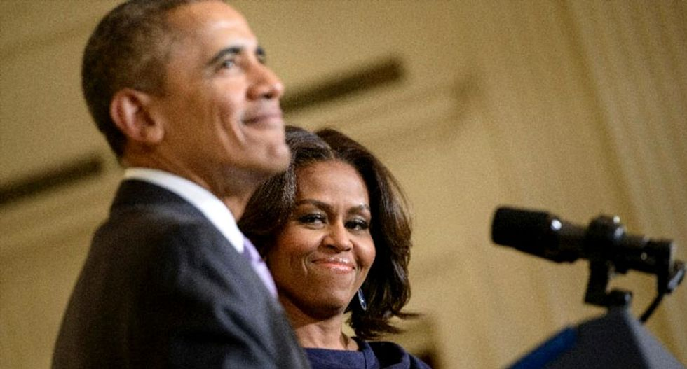 Michelle Obama discusses emotional toll of being first black first lady