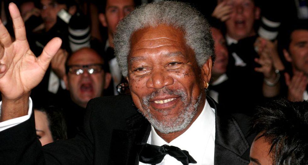 Morgan Freeman calls for marijuana legalization 'across the board'