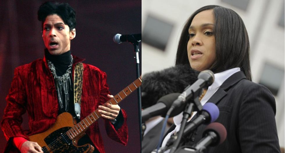 Conservatives freak out after Maryland prosecutor appears at Prince 'Rally 4 Peace' concert