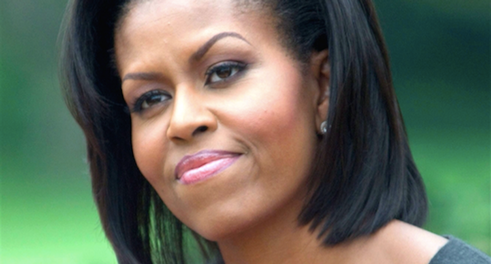 Image purported to be Michelle Obama's passport posted online