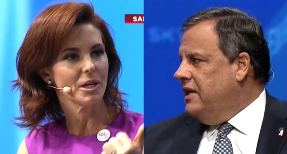 MSNBC's Stephanie Ruhle nails Chris Christie in combative interview after he tries to shrug off Trump's lies
