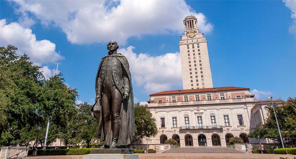 'Emancipate UT': Confederate statue defaced at University of Texas