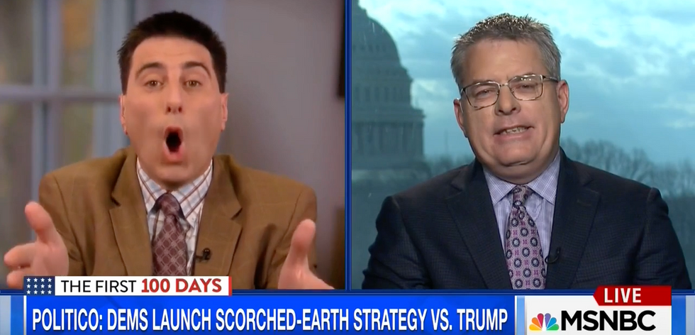'Donald Trump is a baby!': Opposing brothers brawl on MSNBC over president's voter fraud paranoia