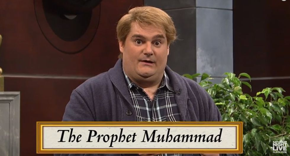 Watch: SNL mocks Pam Geller's 'Draw Muhammad' contest with ridiculous game show parody