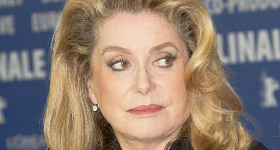 French actress Deneuve on stars who 'selfie': A real star 'shows themselves a little and remains discreet'