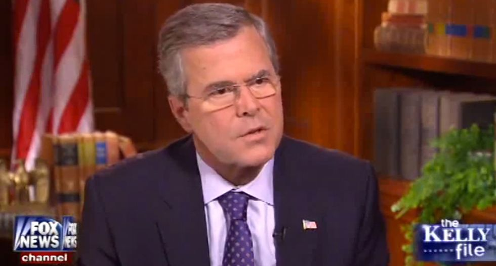Jeb Bush: 'I would have invaded Iraq'  like my brother did