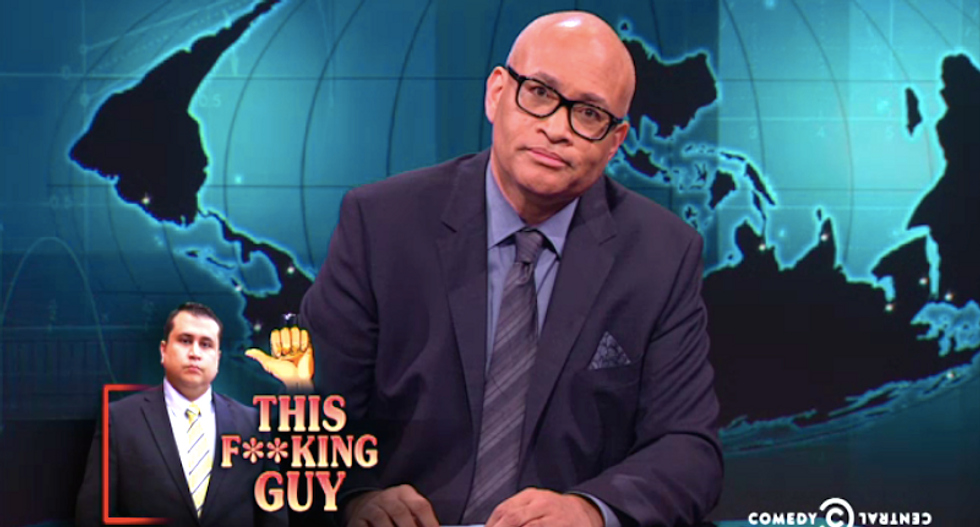 Larry Wilmore fans celebrate bad news for 'wrongfully acquitted unhinged menace' George Zimmerman