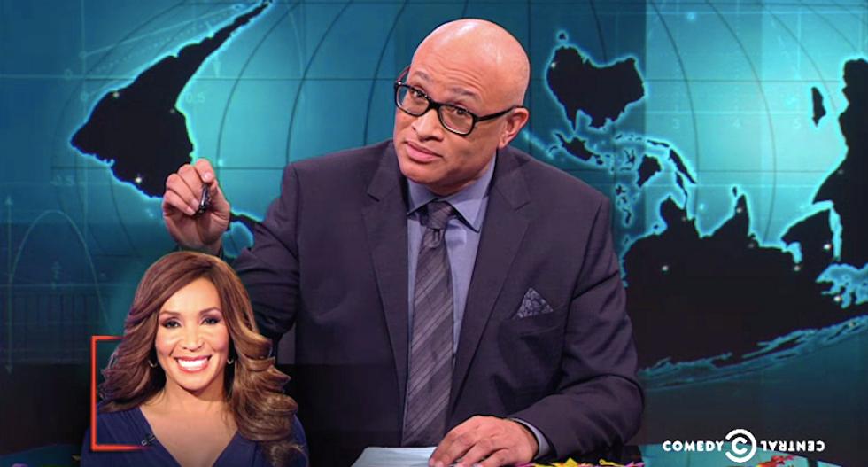 Larry Wilmore slams 'Fox's convenient black friend' for racist criticism of Michelle Obama speech