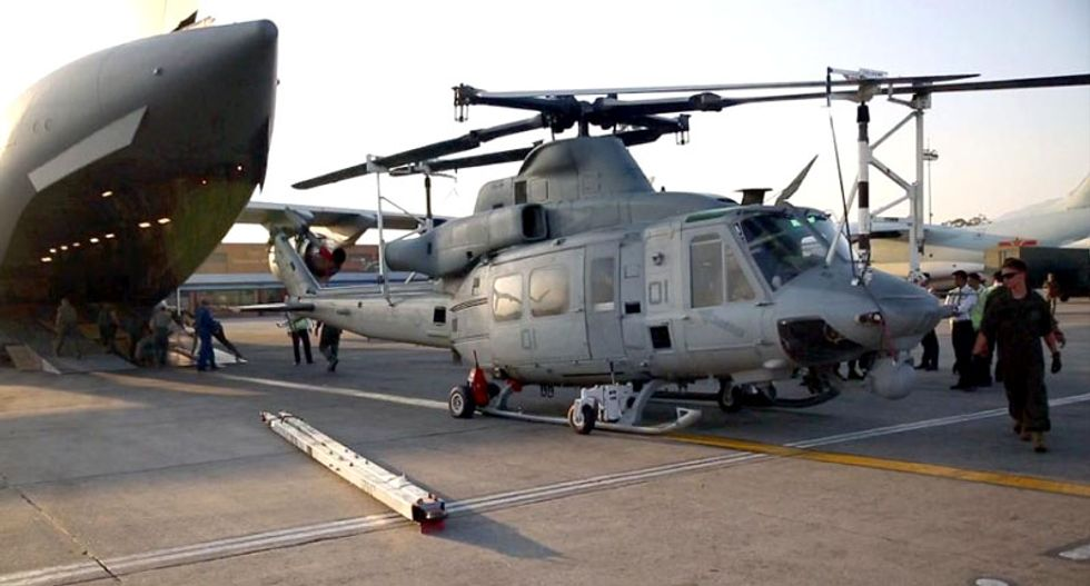 US Marine Corps helicopter missing in Nepal with 8 aboard: military