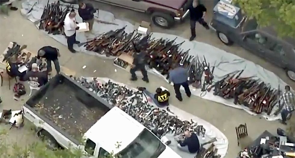 ATF discovers 'massive stockpile of firearms' in Bel-Air 'near the Playboy Mansion': report