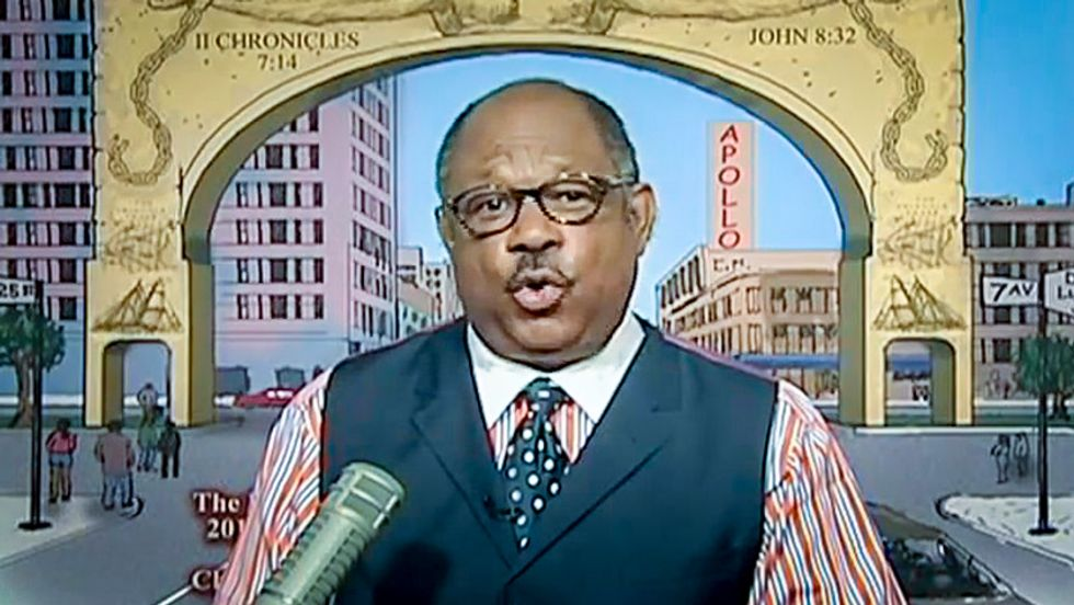 NY pastor: Baltimore rioted because blacks aren't mature enough to have a black president