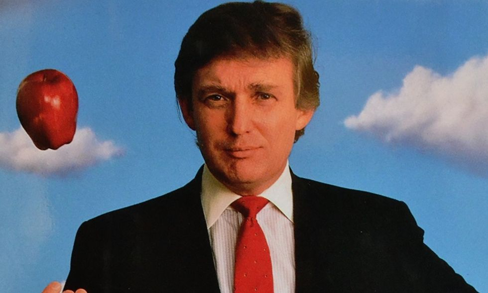 Here's how a 29-year-old review of Trump's second book predicts his entire presidency