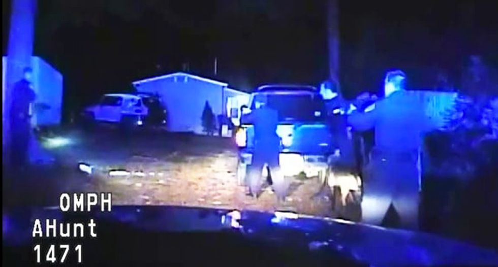 WATCH: Leaked video shows North Carolina cop shooting black suspect in the back as he ran away