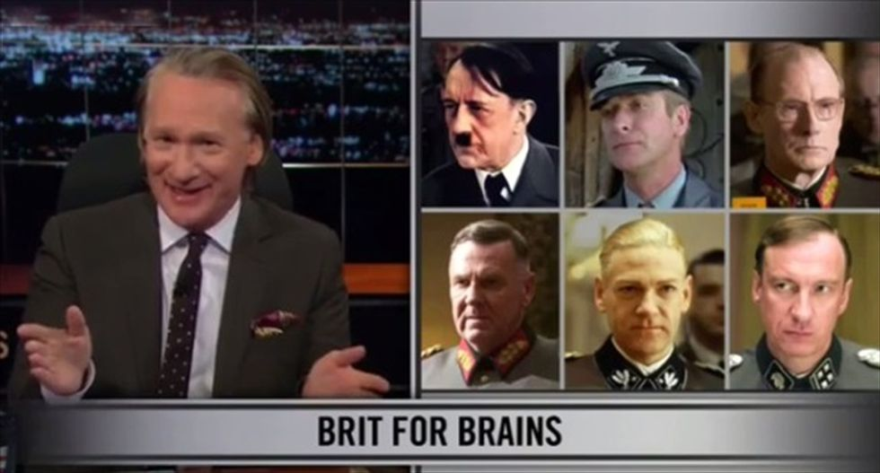 Bill Maher: Americans love British accents because they remind us 'we're not really a serious people'