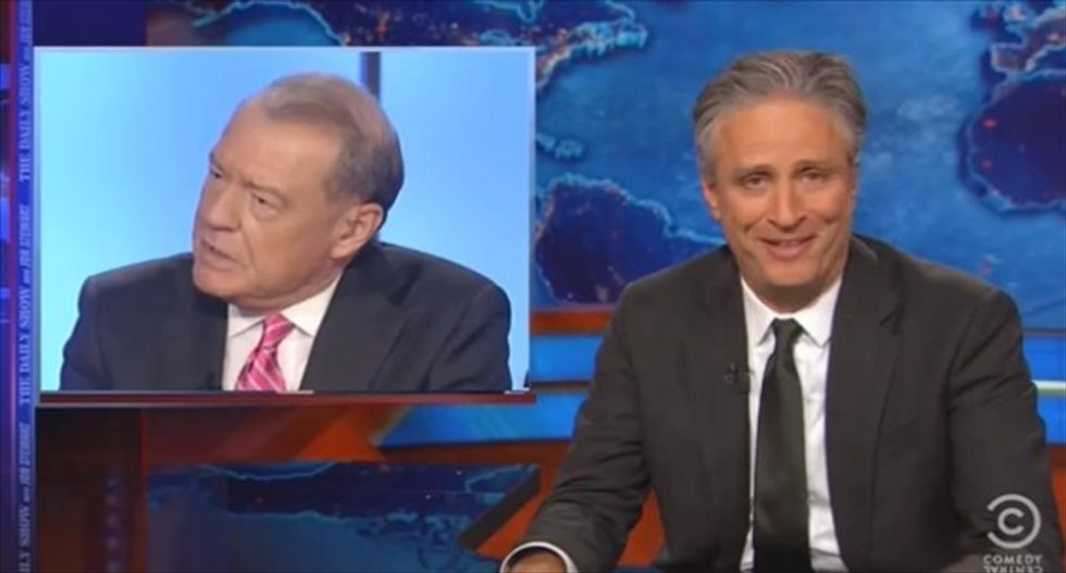 Jon Stewart destroys Fox News scrooge Varney: 'How f*cking removed from reality' are you?