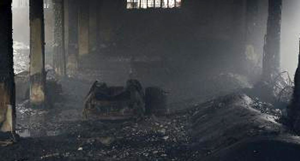 Death toll in Philippine factory fire rises to 58