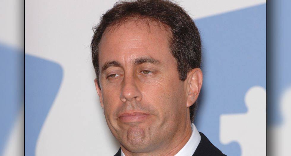 'Who's writing your tweets — Breitbart?': Jerry Seinfeld slammed for 'Lewis Black's Life Matters' pun