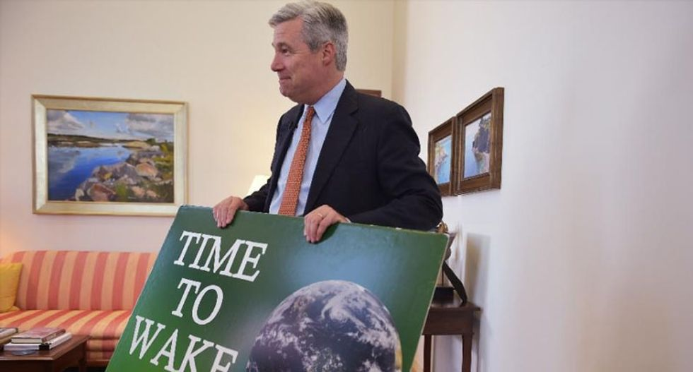 Sheldon Whitehouse -- the senator on a mission to get the GOP to wake up to climate reality
