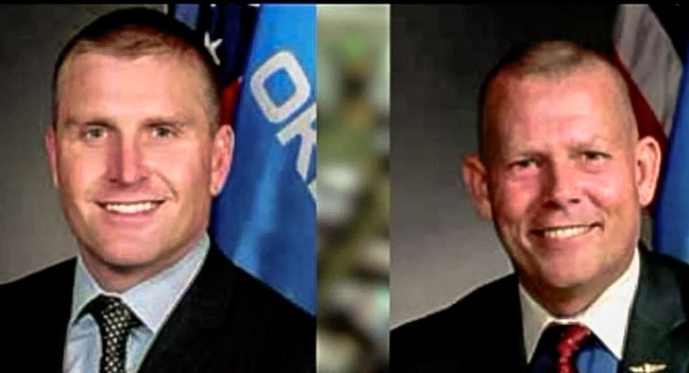 Two Oklahoma GOPers under fire for 'sexual battery' after allegedly trapping woman and groping her
