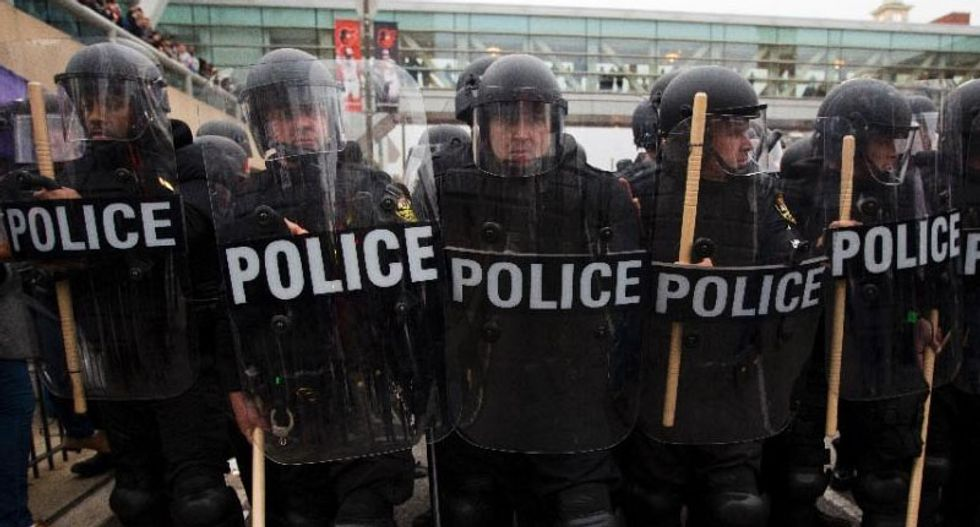 No more cops with bayonets -- Obama moves to demilitarize the police