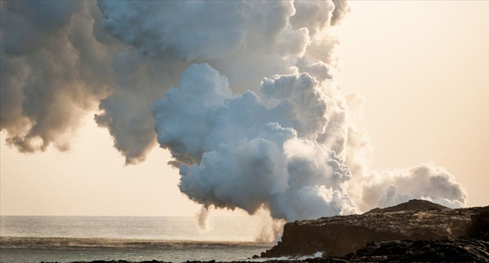 Hawaii's Kilauea volcano showing signs of an imminent eruption