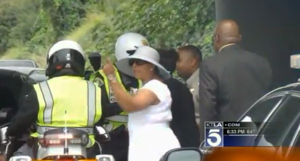 Cops pull over 100-car funeral procession for going too slow — and this LA family is outraged