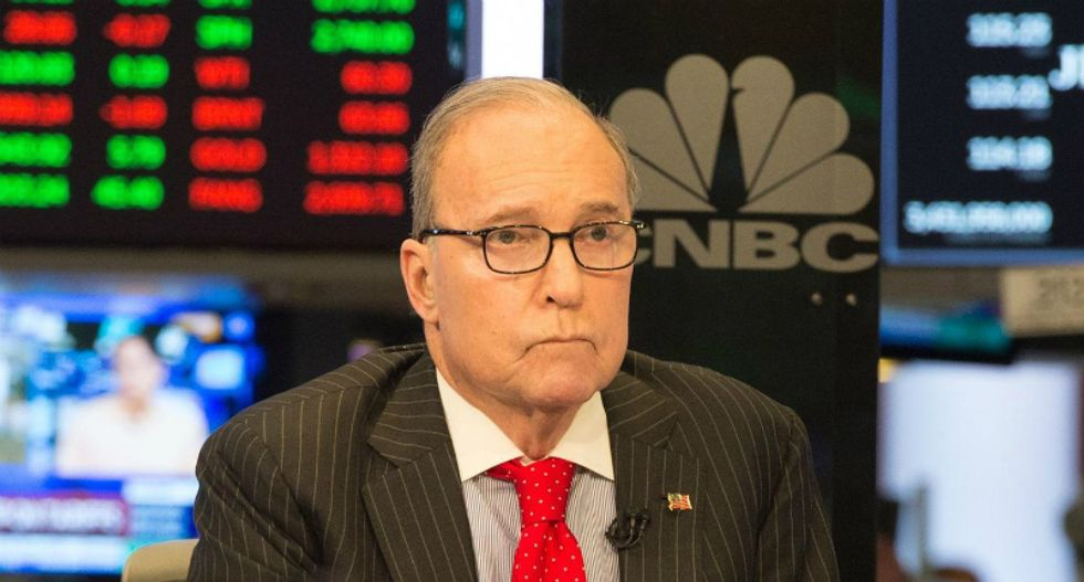 Trump economic adviser Larry Kudlow in 'good' condition after heart attack