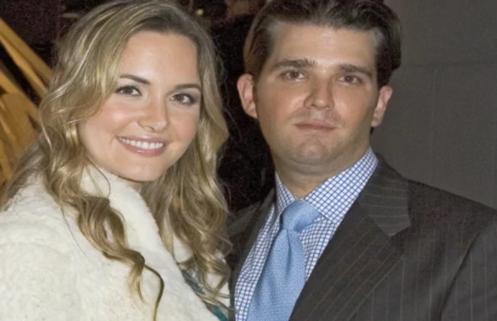 Donald Trump Jr. is getting divorced from wife: report