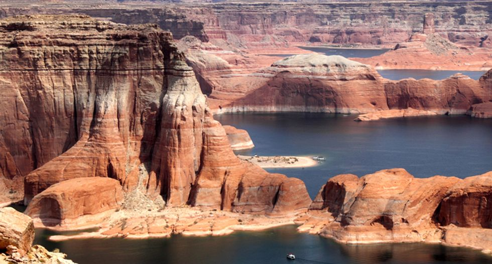 America's second largest reservoir -- Lake Powell -- is disappearing