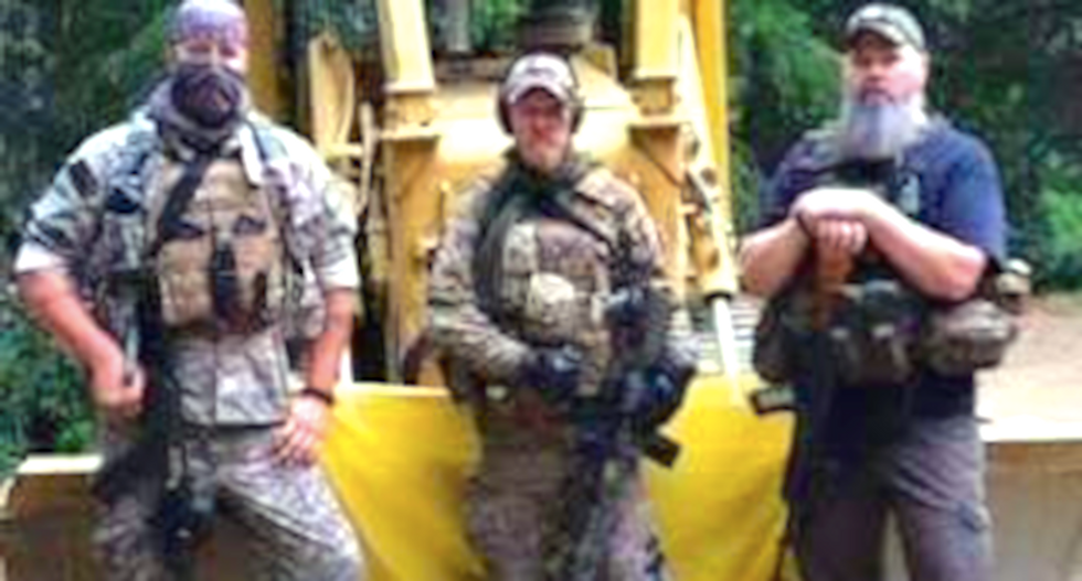 Oath Keepers at Montana mine are threatening Forest Service in totally bogus operation: feds