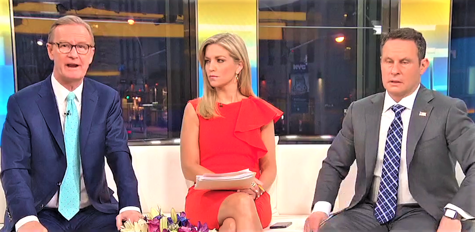 Fox & Friends whines students were picking on the NRA during their 'political' walkout