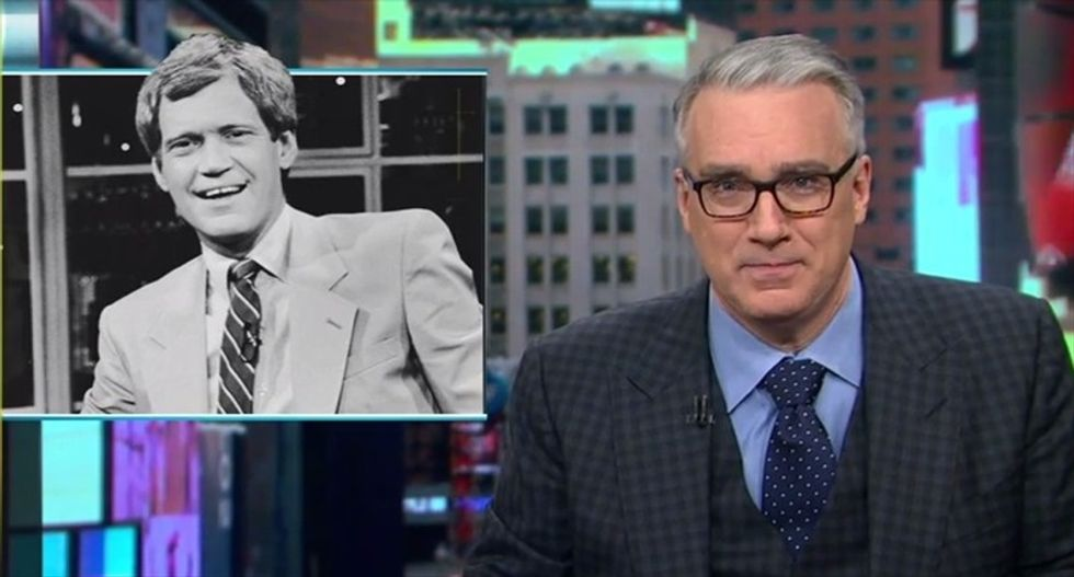 Keith Olbermann: If David Letterman did a sports show, 'he'd get the rest of us canceled or fired'