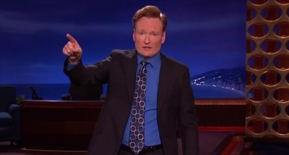 Conan O'Brien tells his viewers: Forget about me, watch David Letterman's finale