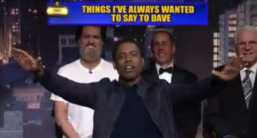 WATCH: David Letterman's 'Top 10 list' gets its own all-star send-off