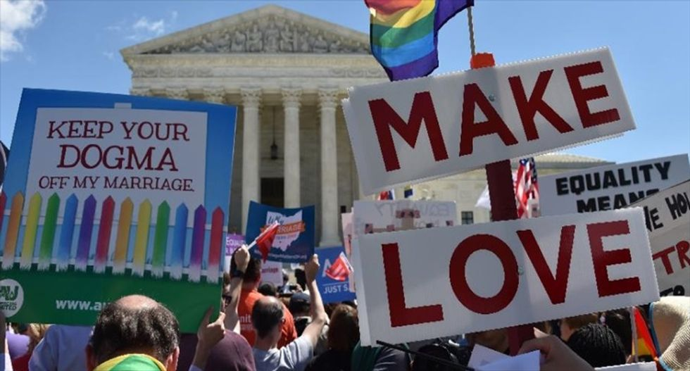 New poll shows support for marriage equality up to 60 percent as Supreme Court ruling looms