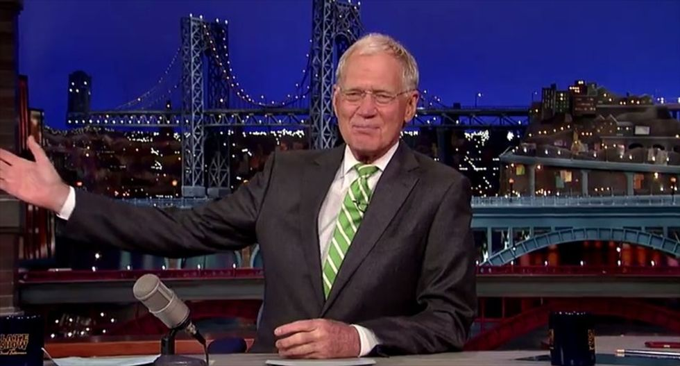 WATCH: David Letterman and Bill Murray share one last 'Late Show' moment