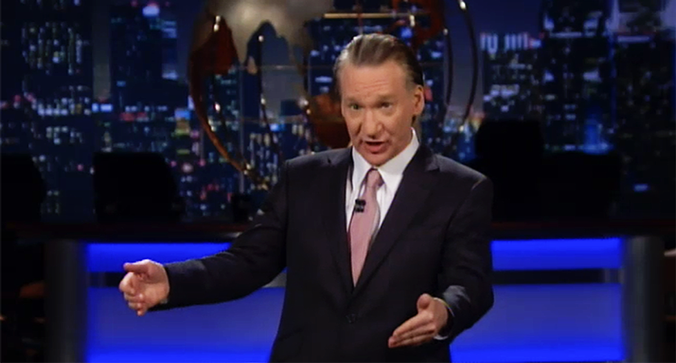 'This is about a guy who never brought a woman to orgasm': Bill Maher tackles Trump's 'crowd' problem