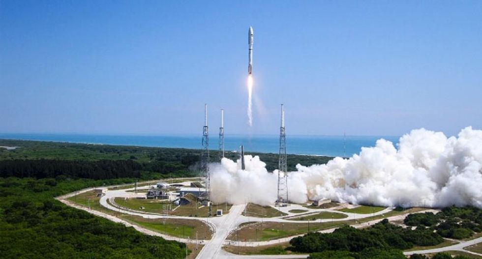 Secretive US Air Force space plane X-37B back in orbit