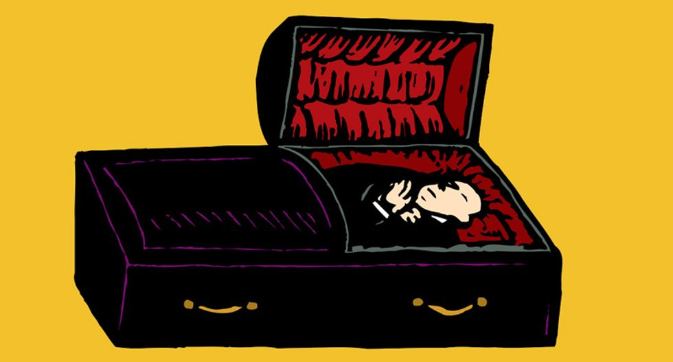 Don't let the mortician turn you into a biohazard -- Here are some alternatives to toxic embalming